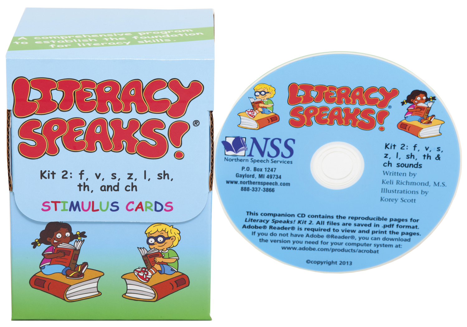 Literacy Speaks! Kit 2 | Product Info & Order Here