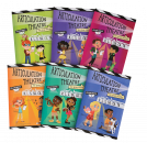 An easy and creative way to target multiple sounds simultaneously in a group setting and with success! Features playfully illustrated, no-preparation play scripts targeting R, S, L, Sh, Ch, Th.