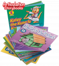 Save $44 and receive all 16 consonant books in the Articulation Storybooks series. Children love these wonderfully illustrated, engaging storybooks. Each book highlights and repeats a specific sound/letter throughout the book.