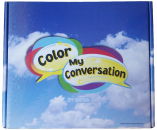Engaging, multi-sensory program to teach children the language skills needed for face-to-face conversations. Utilizes 12 specific lessons to systematically guide children through the conversation flow starting at a basic greeting and then building toward the most complex conversation that the child is capable of having.