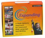 Expand oral and written expression with this brilliant multi-sensory program. No longer receive one-word answers when asking students to describe vocabulary, objects or events. The hierarchical approach will quickly take a student's expression from single words to descriptive paragraphs to full reports!