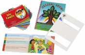 Engaging, versatile storybooks written in four progressive levels allowing each reading to be matched to the child's age and language level! Each book was specifically authored to integrate multiple language targets into the text in a naturalistic manner. Includes a comprehensive activity manual.�