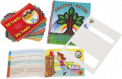 Great for ESL/ELL programs as each story is written in both Spanish and English. These storybooks are written in four progressive levels allowing each reading to be matched to the child's age and language level. Each book was specifically authored to integrate multiple language targets into the text in a naturalistic manner. Includes a comprehensive activity manual.
