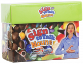 Promotes spontaneous requesting through sign and provides a bridge from signing to vocal communication. Features 150 everyday nouns that are highly motivating for children and that double as excellent reinforcers.