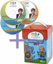 Save $75 when you combine these two best selling treatment resources! The K-SLP Instructional DVD Set is a comprehensive video training program to teach SLPs step-by-step how to implement the Kaufman Speech To Language Protocol. Then use your training with the Kaufman Kit 1 to teach children to combine consonants and vowels to form words.