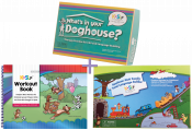 Save $111 with this special triple combo offer! From Nancy Kaufman, use these 3 amazing therapy resources to build expressive and receptive language skills for children with apraxia or other speech sound disorders.
