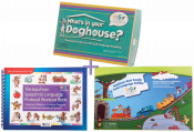 Save $70when you purchase these three best selling tools by Nancy Kaufman for treating children with Apraxia of Speech