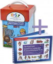 Save $50 when you�combine these two best selling treatment resources. Kaufman Kit 1 will�teach children to combine consonants and vowels to form words. Then use the Workout Book to�move children quickly forward from single words into functional phrases and sentences.