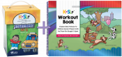 Save $120 when you combine these two best-selling treatment resources. Kaufman Kit 2 helps refine intelligibility by addressing more complicated speech motor movements and synthesis into initial and final word positions. The Workout Book will help to move children quickly forward from single words into functional phrases and sentences.