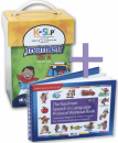 Save $50 when you�combine these two best selling treatment resources. Kaufman Kit 2 will help to refine intelligibility by addressing more complicated motor-speech movements and synthesis into initial and final word positions.�The Workout Book will help to�move children quickly forward from single words into functional phrases and sentences.