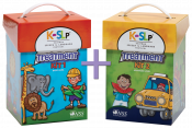 Save $100 when you combine these two best-selling treatment resources. Kaufman Kit 1 will teach children to combine consonants and vowels to form words. Once a child has mastered the sounds in Kaufman Kit 1, Treatment Kit 2 helps to refine intelligibility by addressing more complicated speech motor movements and synthesis into initial and final word positions.