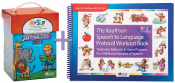 Save $75 when you combine these two best selling treatment resources. Kaufman Kit 1 will teach children to combine consonants and vowels to form words. Then use the Workout Book to move children quickly forward from single words into functional phrases and sentences.