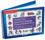 Quickly�move children into expressive language! Developed as a follow up to Kaufman Kit 1, use Workout Book's engaging motor-speech coordination activities to quickly expand single words into functional phrases and sentences.�