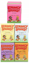 Save $66�when you purchase all five (5)�Literacy Speaks!��Kits. This order includes the full�Literacy Speaks!��program covering�the complete alphabet, plus diphthongs, digraphs, trigraphs, silent e, and blends of L, R, S.�Includes 255 reproducible storybooks and hundreds of other reproducible activities on CD.�