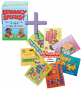 SAVE $37 when you pair these 2 therapy materials targeting similar sounds! Kit 2 targets the sounds/letters: /f, v, s, z, l, sh, ch, th/ and is an all-in-one treatment program that successfully targets articulation, phonological awareness, speech intelligibility, and foundation literacy skills – all simultaneously! Use the engaging Articulation Storybooks - Complex Consonants for even more practice on target sounds: /r, f, s, l, sh, ch, th/.