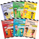 An easy and creative way to target a variety of skills simultaneously in a mixed group! Features playfully illustrated, no-preparation play scripts targeting Synonyms, Antonyms, Context Clues, Idioms, Attributes, & Inferencing.