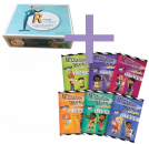 SAVE $46 when you pair these 2 unique articulation focused programs! 'R' Made Simple is an entirely different approach to 'R' remediation. Articulation Theatre Books are an easy and creative way to target multiple sounds simultaneously in a group setting and with success! Features playfully illustrated, no-preparation play scripts targeting R, S, L, Sh, Ch, Th.