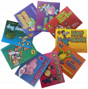 Focus on articulation and phonological awareness with these engaging storybooks. �Each book highlights and repeats in bold font a specific letter/sound throughout the book. �This set targets the sounds: /b, d, g, h, k, m, n, p, t/.