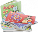 Save $48�and receive all 32 books in the Speech-Reading Connection book series. Each book highlights and repeats a specific sound/letter throughout the book.�Focus on articulation and phonological awareness with these engaging storybooks.