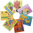 Focus on articulation and phonological awareness with these 7 engaging storybooks. Each book highlights and repeats in bold font a specific letter/sound throughout the book. This set targets the sounds: /th, r, sh, ch, f, l, s/.