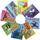 Focus on articulation and phonological awareness with these engaging storybooks. Each book highlights and repeats a specific sound/letter throughout the book. This set targets: /a, ea, ee, i, o, oi, ou, ow, u/
