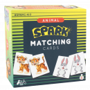 These Animal Matching Cards create a social learning environment and encourage turn-taking skills. Builds tactile, motor skills, thinking skills, and learning basic vocabulary. Supports developing memory, language skills, vocabulary, and turn-taking. Great for pre-school, classroom, speech therapy, center play, autism, education, family fun, and ESL & ELL games.