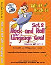 Targets a variety of speech & language tasks from simple consonant-vowel�and single-word practices, to more complex exercises such as understanding and answering�questions. Features 24 well-known rock-n-roll tunes that have been rewritten for children.�