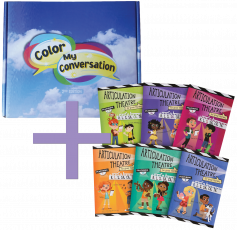 Color My Conversation (CMC) - 2nd Edition &�Articulation Theatre Books COMBO