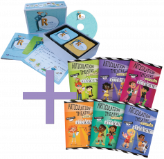 'R' Made Simple &�Articulation Theatre Books COMBO