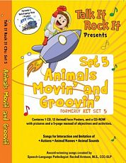 TIRI - CD Set 5 Animals Movin' and Groovin'