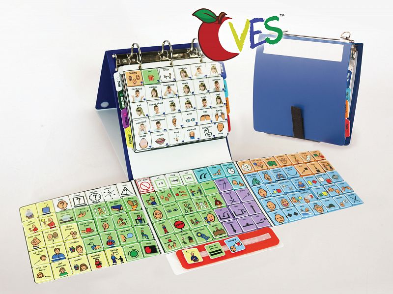 CVES Low Tech AAC System   Core Vocabulary Exchange System