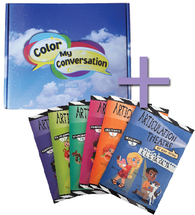 Color My Conversation + Articulation Theatre Books >