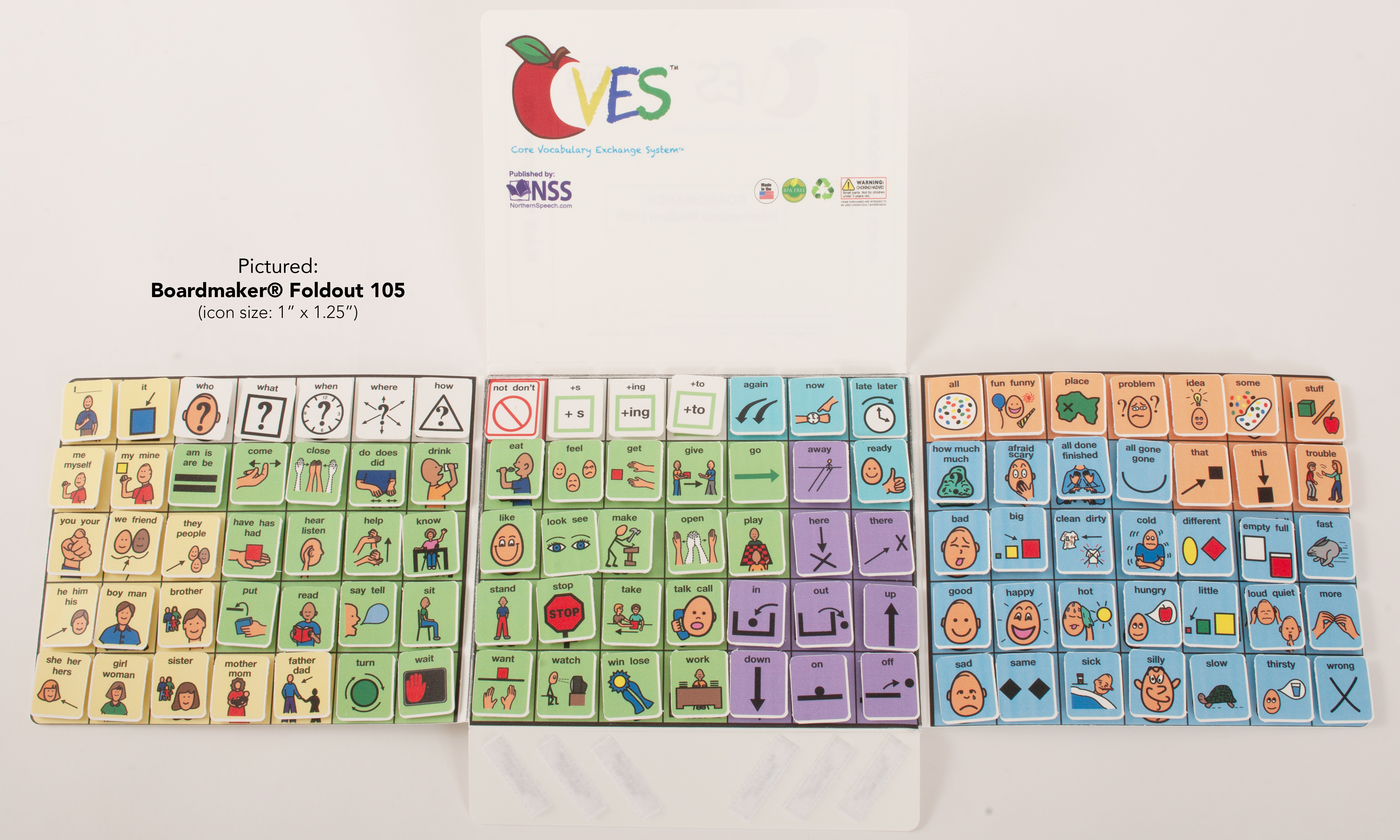 Cves Low Tech Aac Core Vocabulary Exchange System